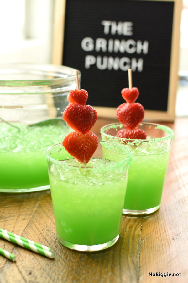 Christmas Punch for The Grinch