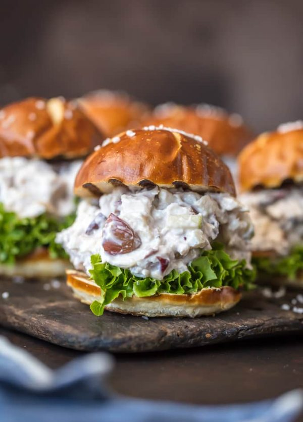 Healthy Chicken Salad Slider | 25+ Recipes for Sliders