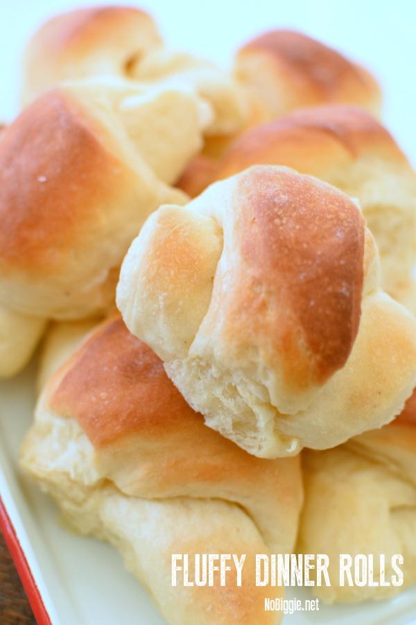 buttery fluffy dinner rolls