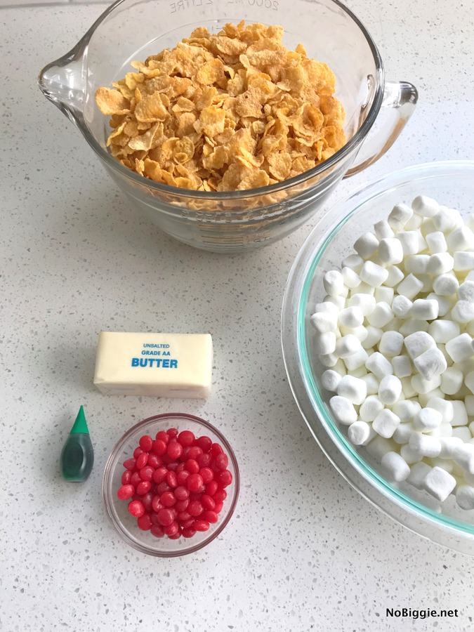 cornflake wreath cookie ingredients