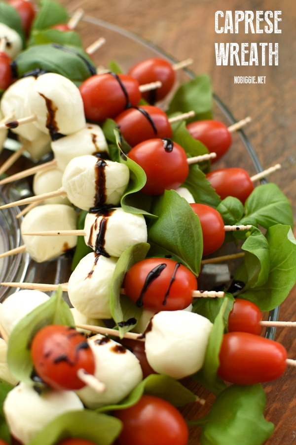 caprese wreath | NoBiggie.net