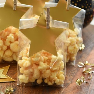 salty sweet corn puff pops