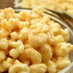 sweet and salty puffed corn pops