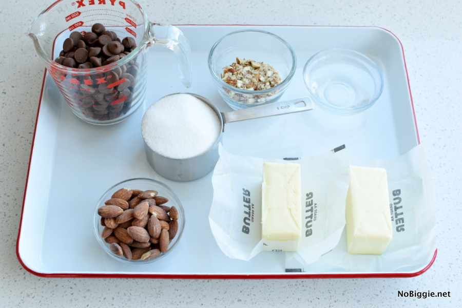 toffee candy ingredients