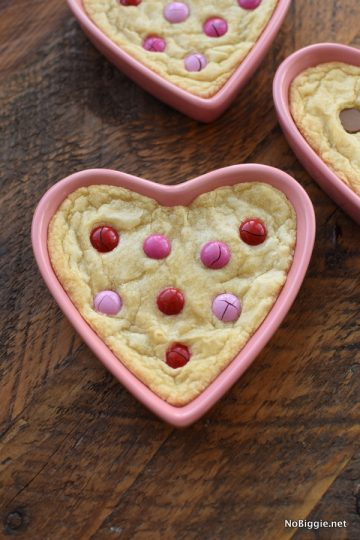 Heart Shaped Chocolate Chip Cookie