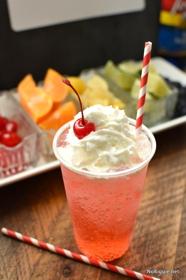 cheers to sweet 16 Italian Soda Bar