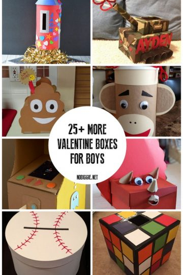More Valentine Boxes for Boys
