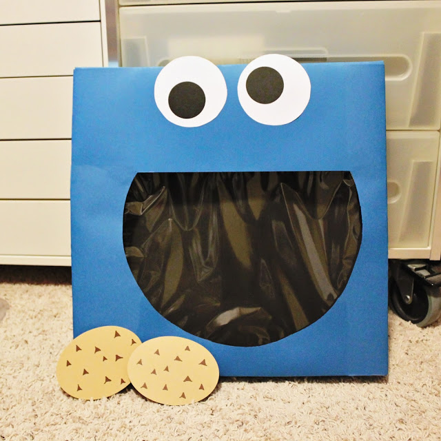 Cookie Monster Valentine Box