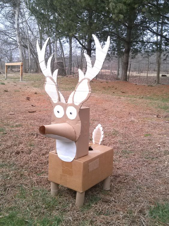 Deer Valentine Box