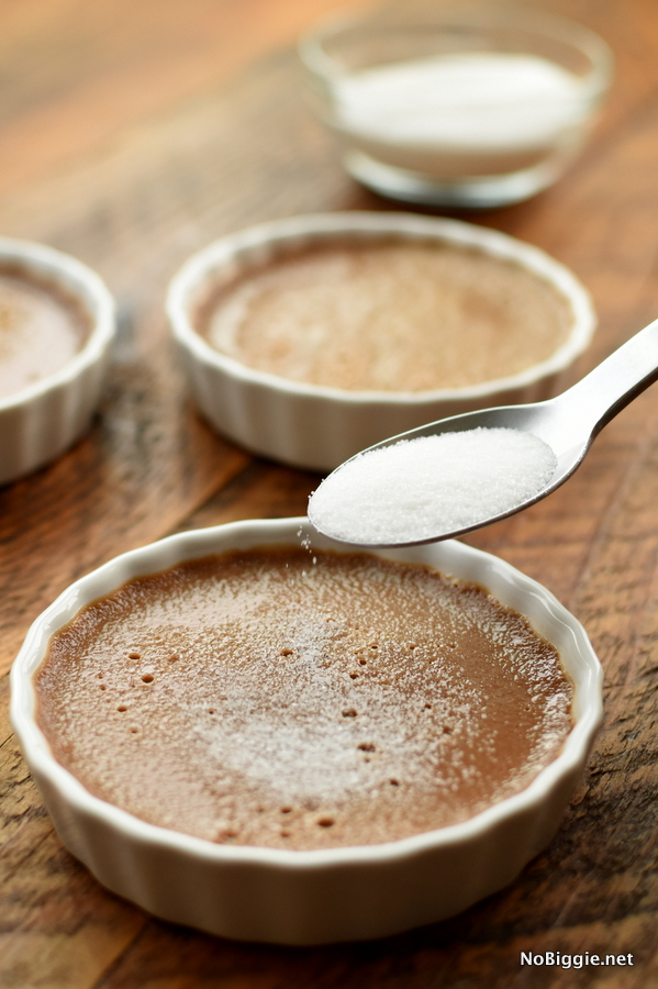 How to make Chocolate Creme Brulee