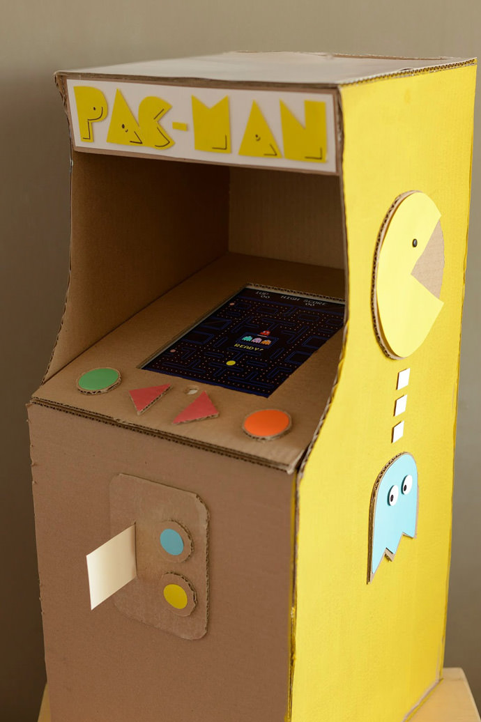 Pac Man Valentine Box