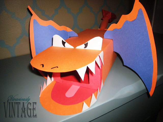 Pokemon Dragon Valentine Box for Boys