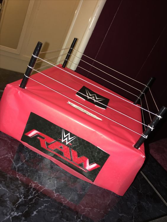 WWE Valentines Day Box for Boys