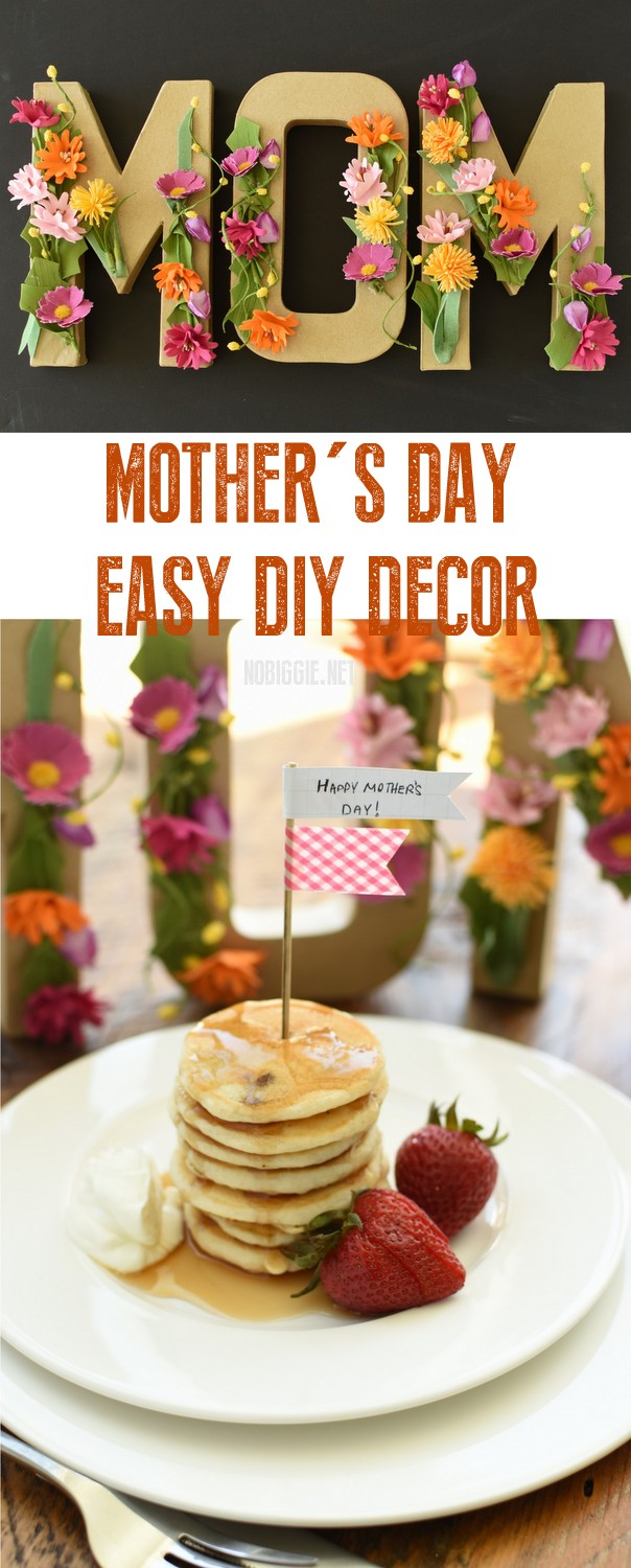 Mother's Day Easy DIY Decor