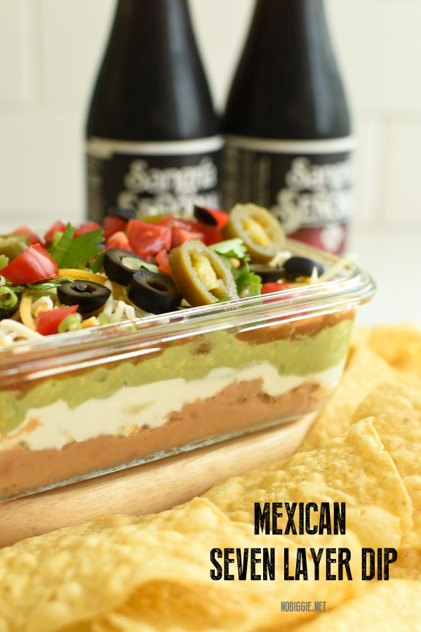 easy mexican 7 layer dip
