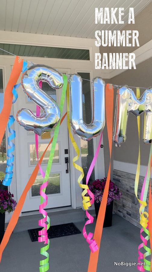 make a Summer Banner