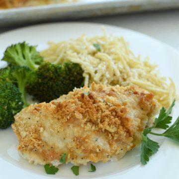 Ritz Cracker Chicken easy recipe