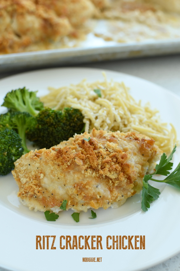 Ritz Cracker Chicken easy recipe