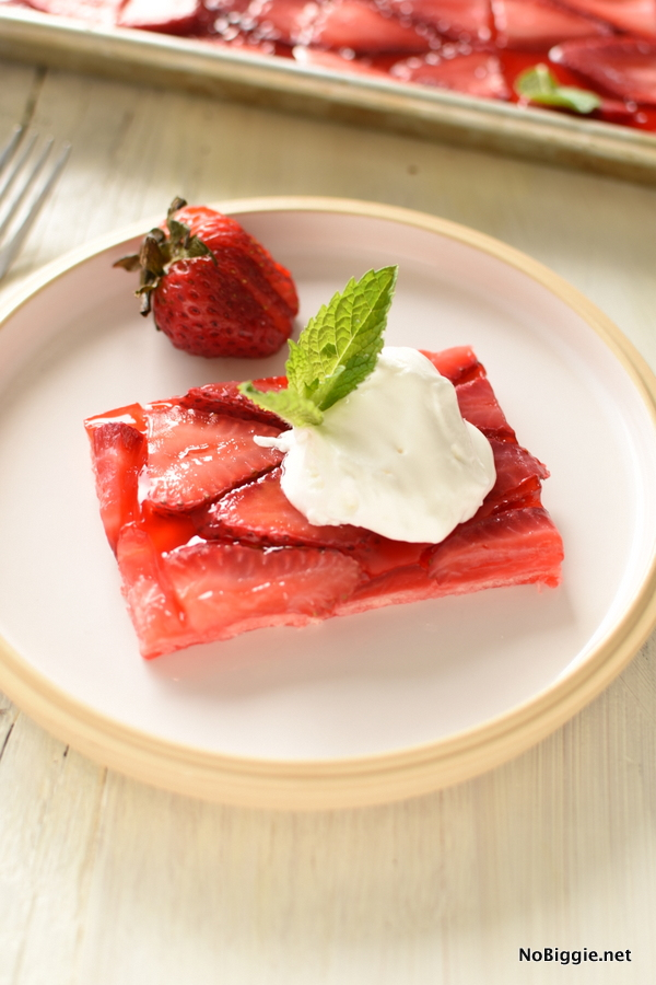 Strawberry Slab Pie is perfect for feeding a crowd