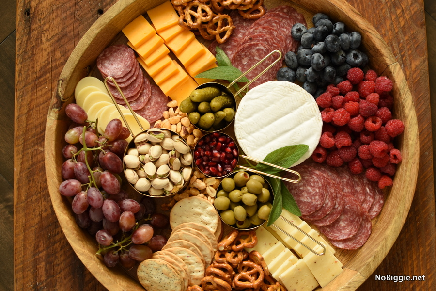 charcuterie cheese board