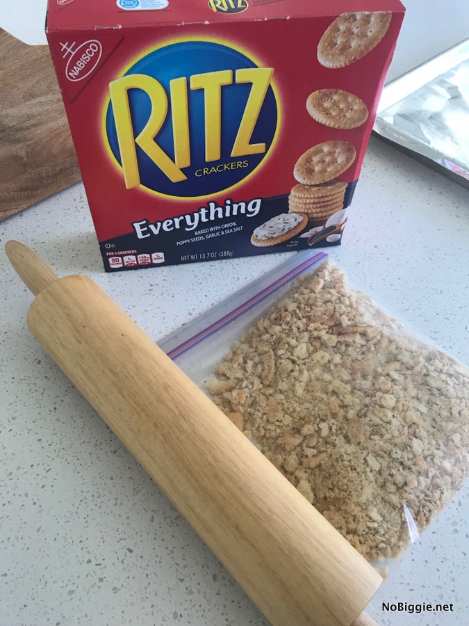 ritz cracker crumbs