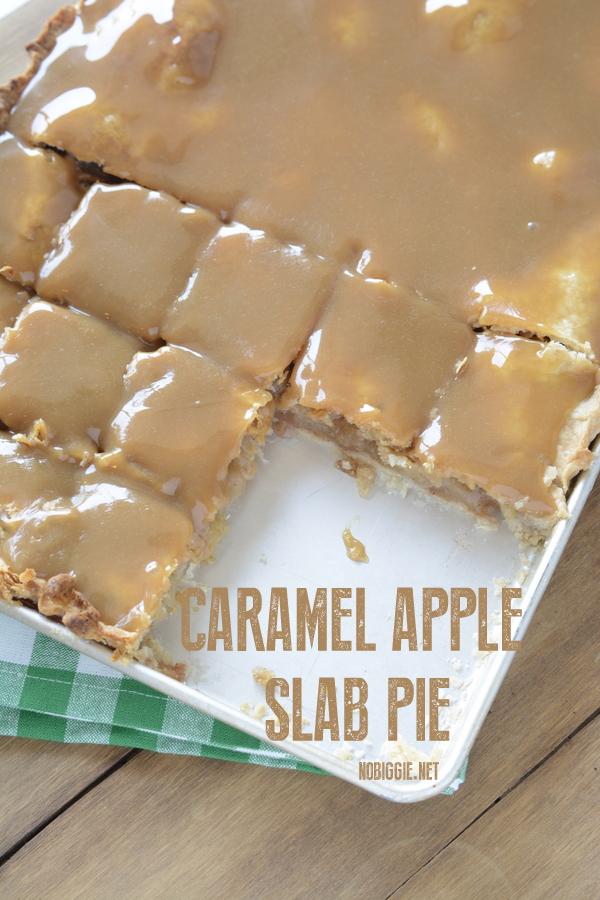 Caramel apple slab pie | 25+ Desserts to feed a crowd