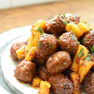 Easy Hawaiian Meatballs