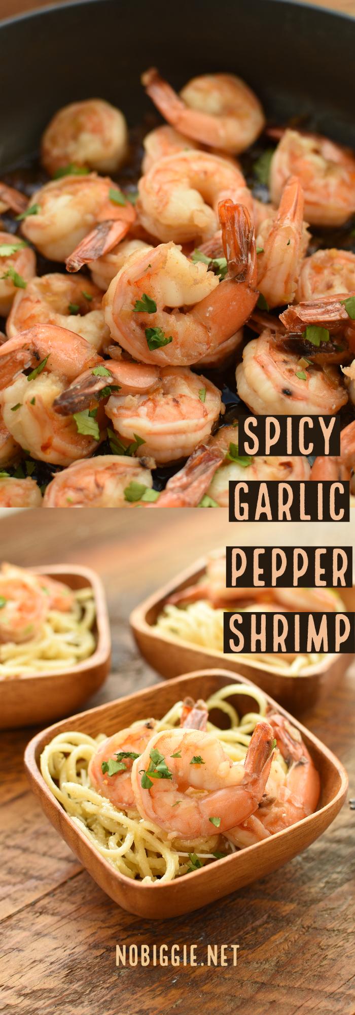 spicy garlic pepper shrimp   NoBiggie.net