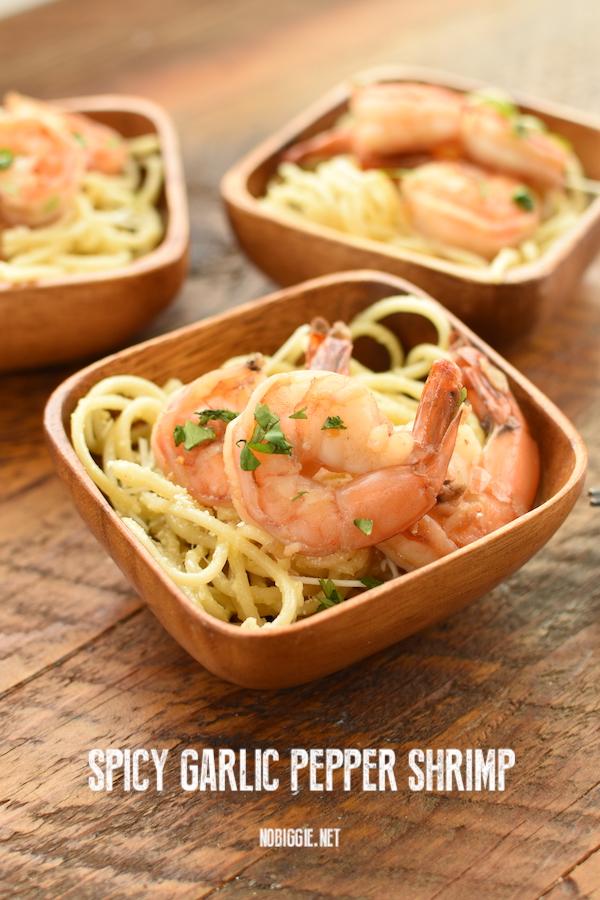 spicy garlic shrimp   NoBiggie.net