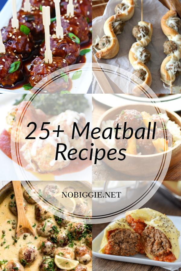 25+ Meatball Recipes | NoBiggie.net