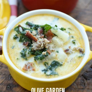 Copy Cat Olive Garden Zuppa Toscana Soup