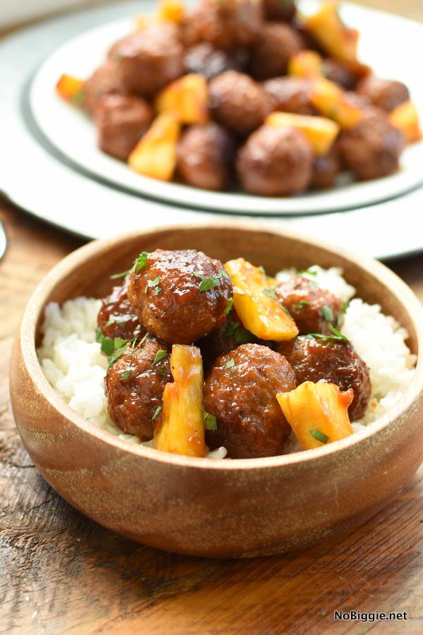 Easy Hawaiian Meatballs | 25+ Meatball Recipes