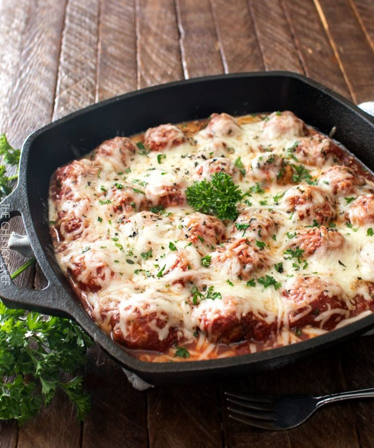 Meatball Parmesan Bake | 25+ Meatball Recipes