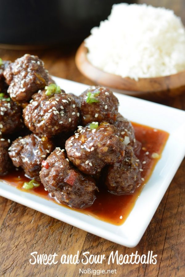 Sweet and Sour Meatballs | 25+ Meatball Recipes