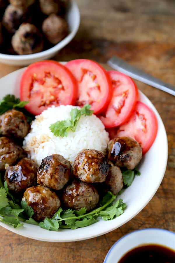 Vietnamese Beef Meatballs | 25+ Meatball Recipes