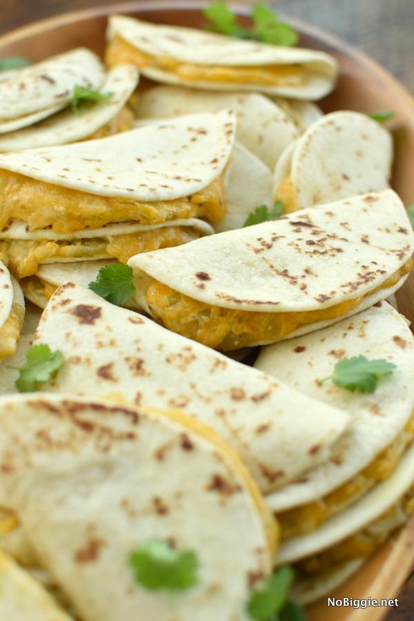 street taco quesadillas