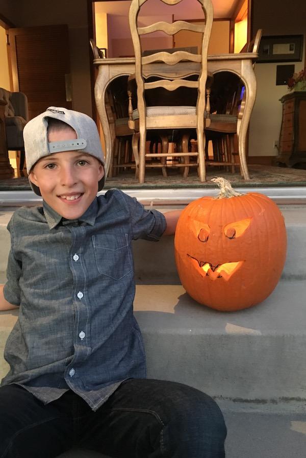 2017 aiden and pumpkin