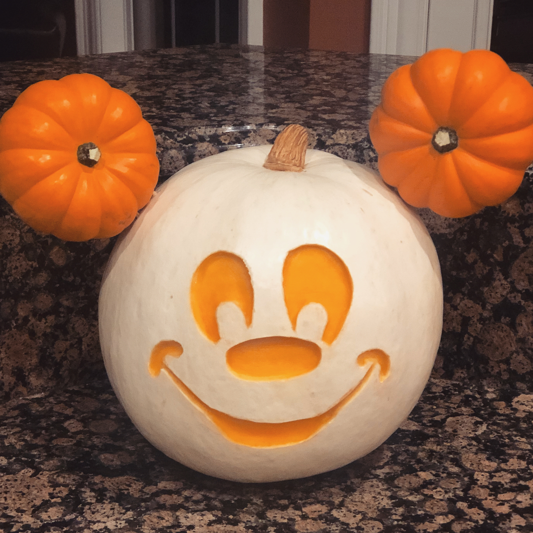 Mickey Mouse Carved Pumpkin | 25+ Creative Carved Pumpkins