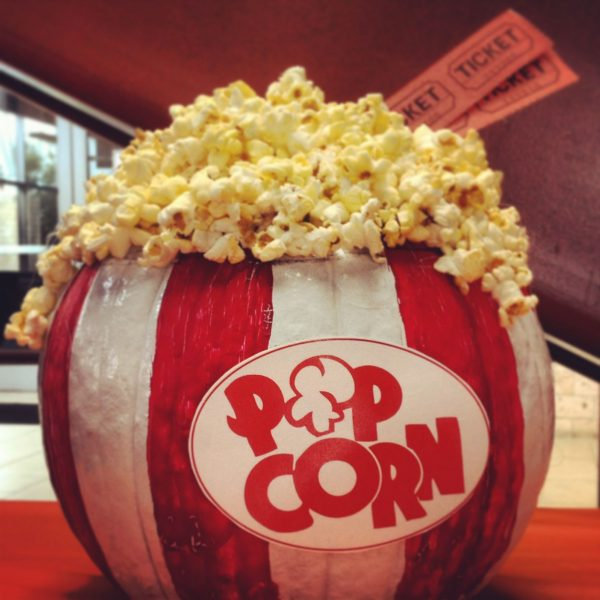 Popcorn Pumpkin | 25+ MORE no carve pumpkin ideas