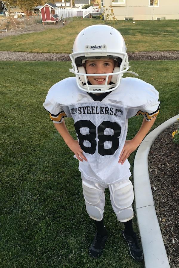 football player Halloween 2017