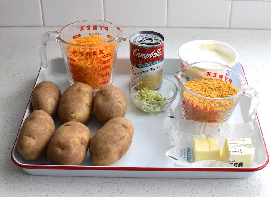 funeral potatoes ingredients