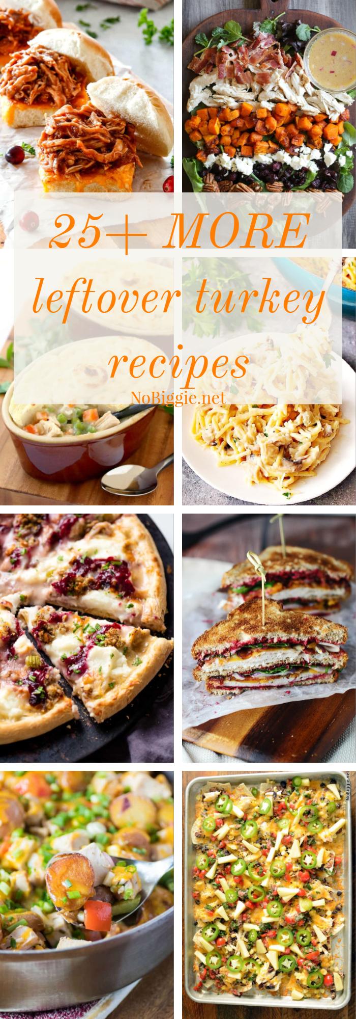 25+ MORE leftover turkey recipes | NoBiggie.net