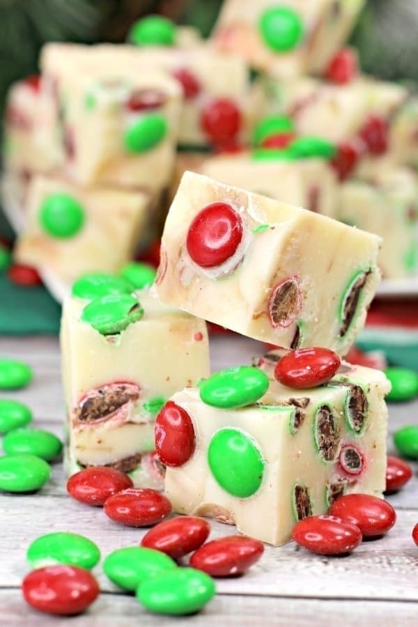 3 Ingredient holiday fudge | 25+ Holiday Fudge Recipes