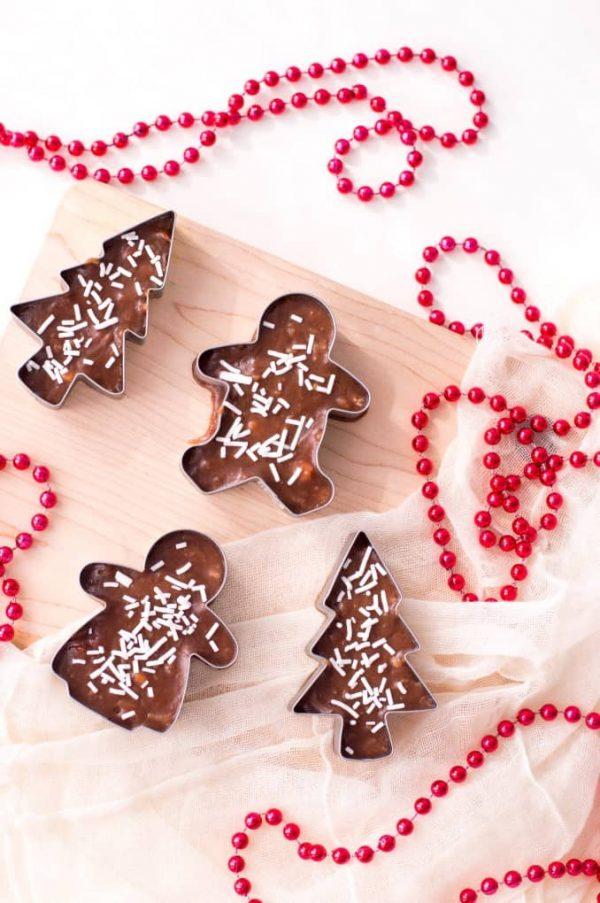 Cookie Cutter Fudge   25+ Holiday Fudge Recipes