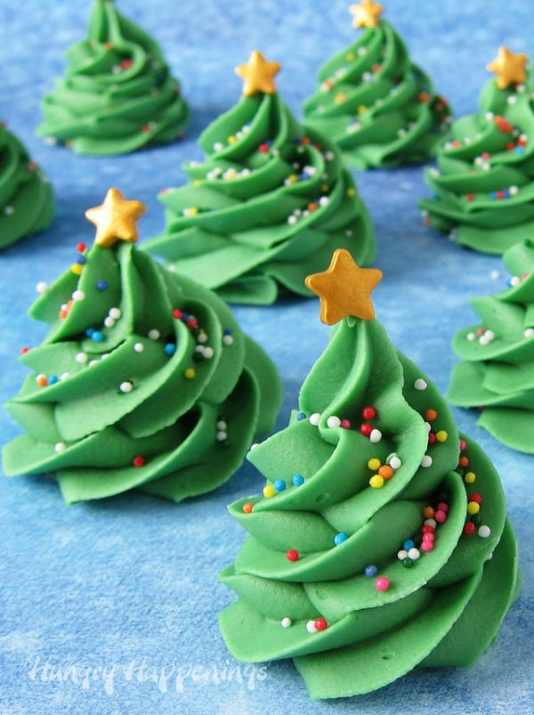 Fudge Christmas Trees | 25+ Holiday Fudge Recipes