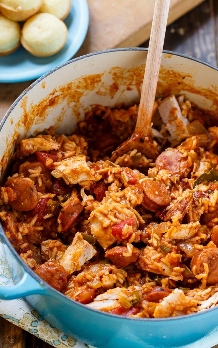 Leftover turkey jambalaya | 25+ MORE leftover turkey recipes