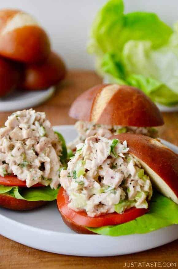 Leftover turkey salad | 25+ MORE leftover turkey recipes