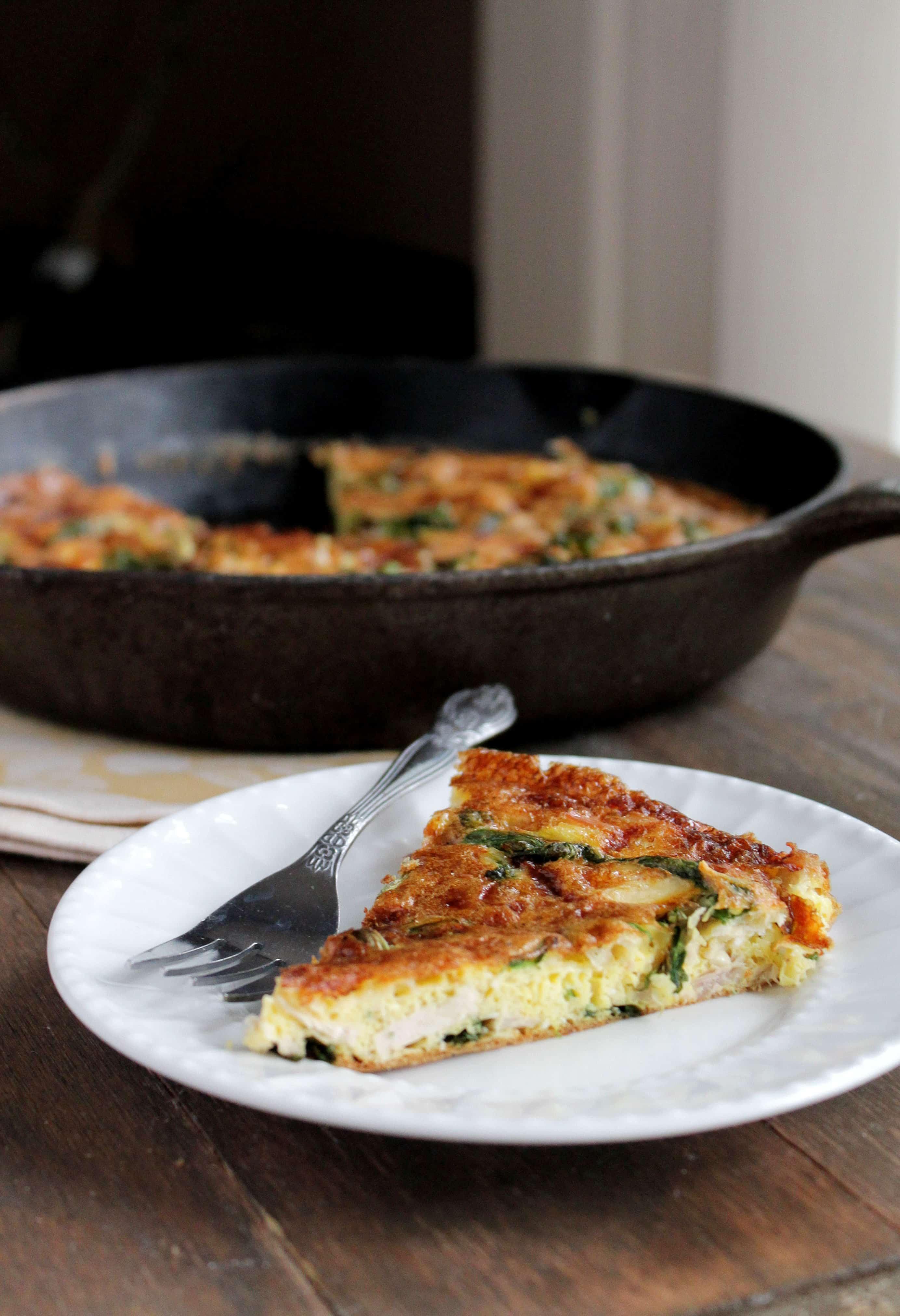 Turkey Frittata | 25+ MORE leftover turkey recipes