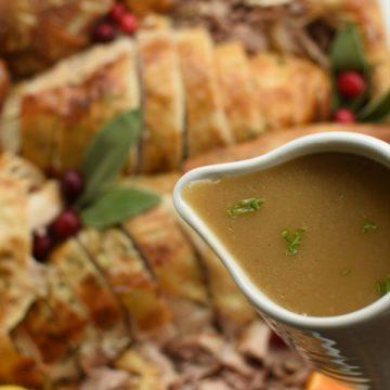 make ahead Thanksgiving Turkey Gravy