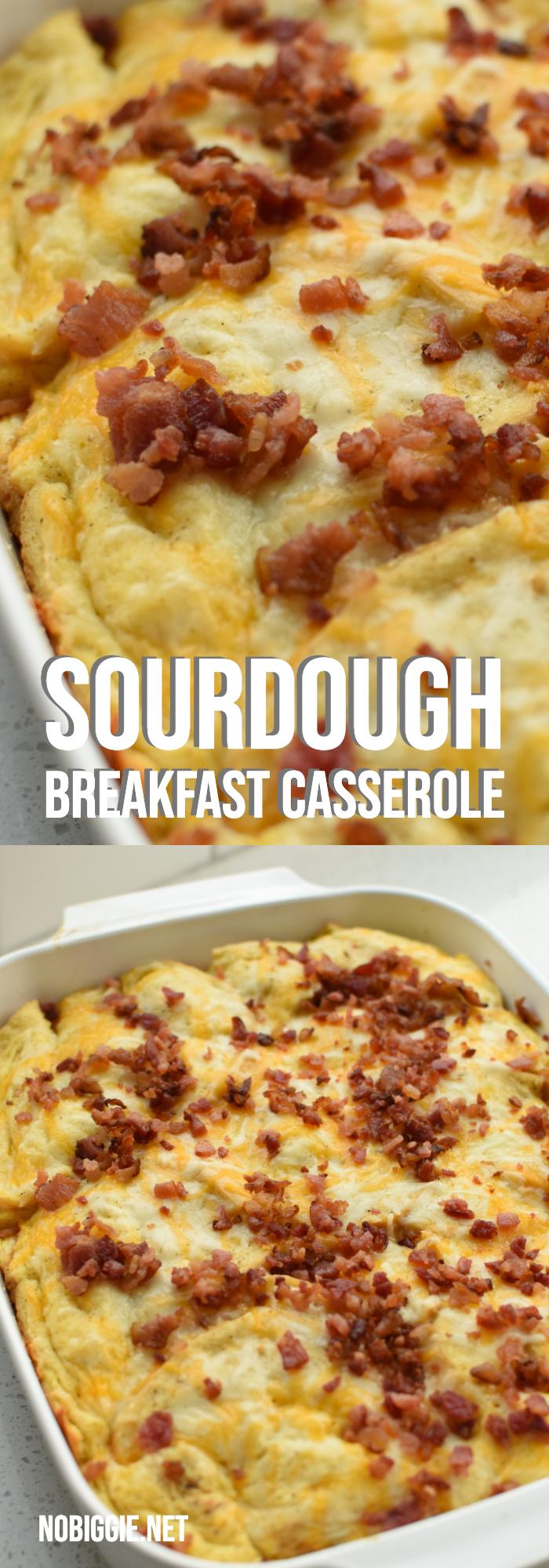 sourdough breakfast casserole